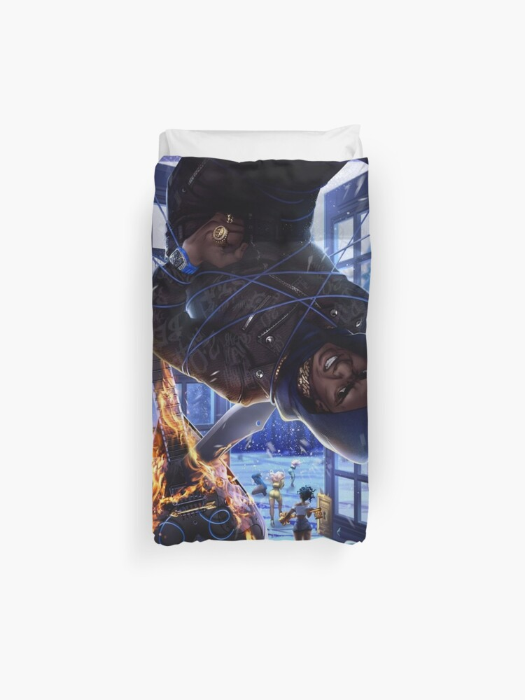 Artist 2 0 Deluxe A Boogie Wit Da Hoodie Duvet Cover By Leobataille Redbubble