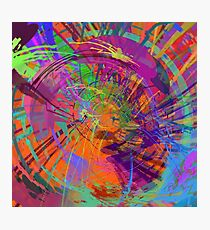 Spiral Galaxy of Color Photographic Print