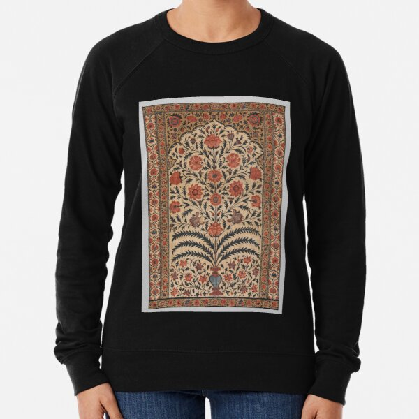 Vintage Panel from a Tent Lining, India 1725–50 Lightweight Sweatshirt