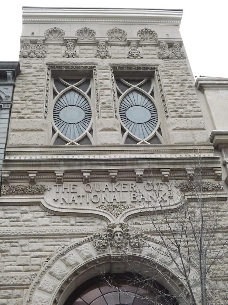 Classic Architecture, Chestnut Street, Philadelphia, Pennsylvania by lenspiro