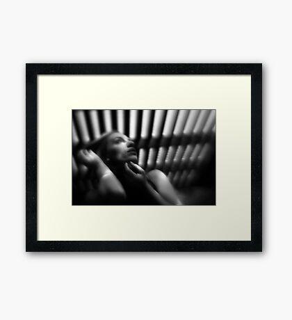 Bendy beauty Framed Print