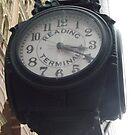 Classic Reading Terminal Clock, Market Street, Philadelphia, Pennsylvania by lenspiro