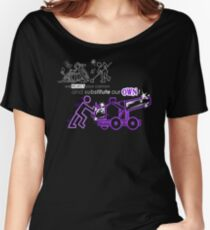 We Reject Your Cannon (Purple Version) Women's Relaxed Fit T-Shirt