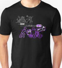 We Reject Your Cannon (Purple Version) Unisex T-Shirt
