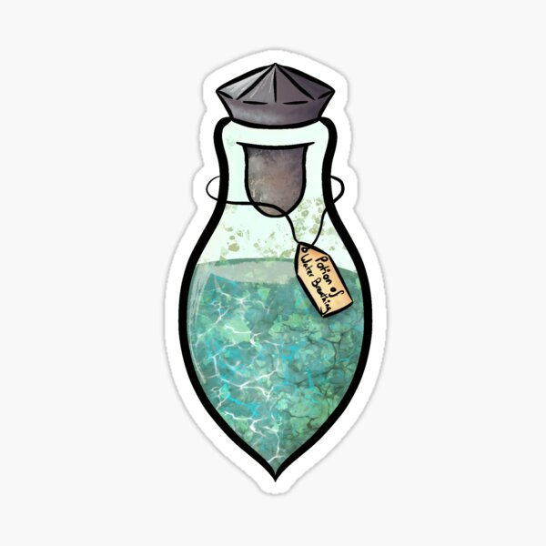Potion of Water Breathing Sticker