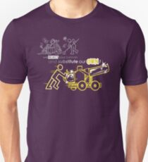 We Reject Your Cannon (Yellow Version) T-Shirt