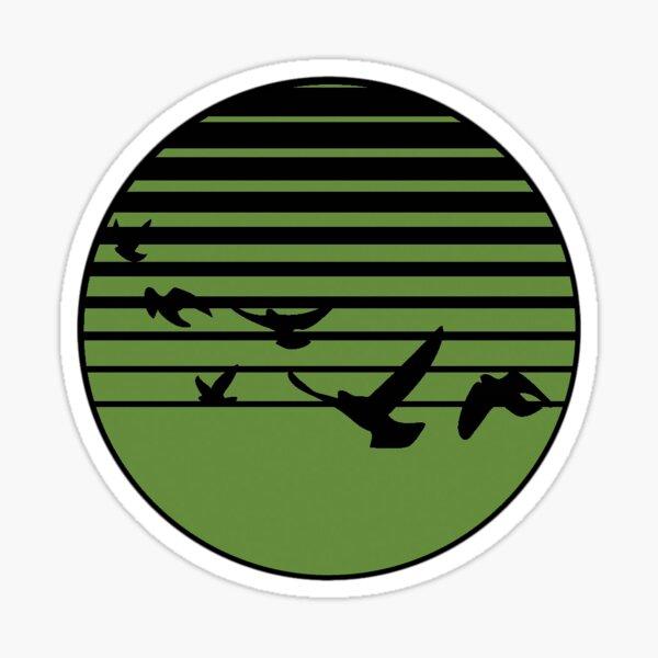 Haken Affinity Circle Logo Sticker