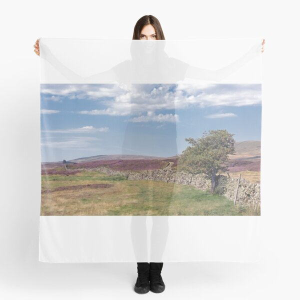 Heather in the summer, Yorkshire Dales National Park  Scarf