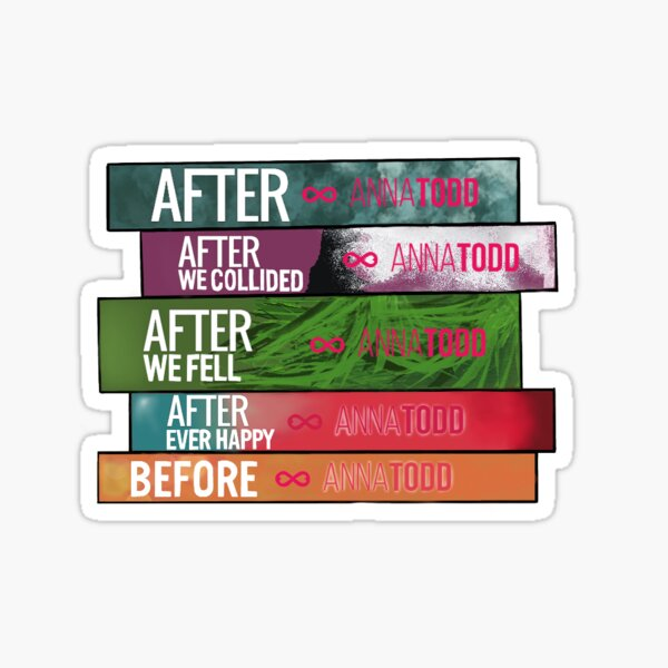 After Book Series Sticker