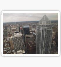 Aerial View of Philadelphia, One Liberty Observation Deck, Philadelphia, Pennsylvania Sticker