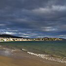 Gathering storm clouds - Howrah Beach, Tasmania, Australia by PC1134
