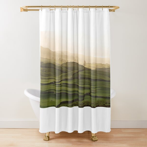 Wensleydale, Yorkshire Dales National Park, England Shower Curtain