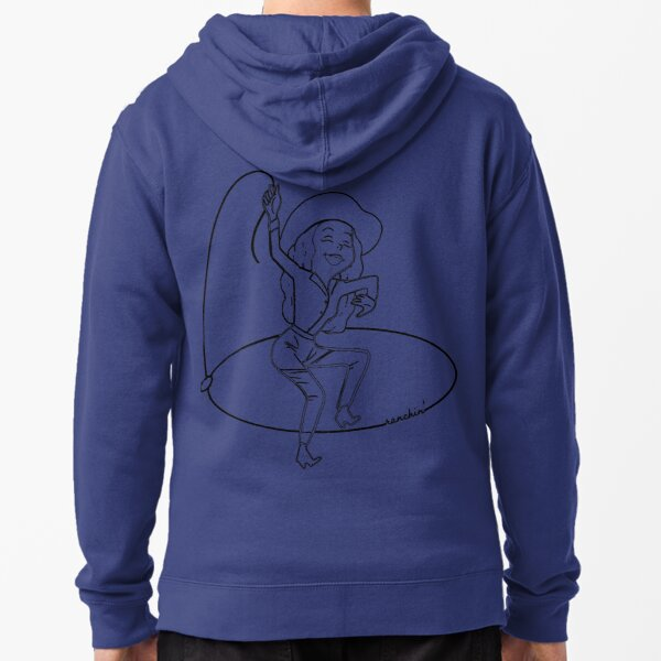 Ranchin' Woman Zipped Hoodie