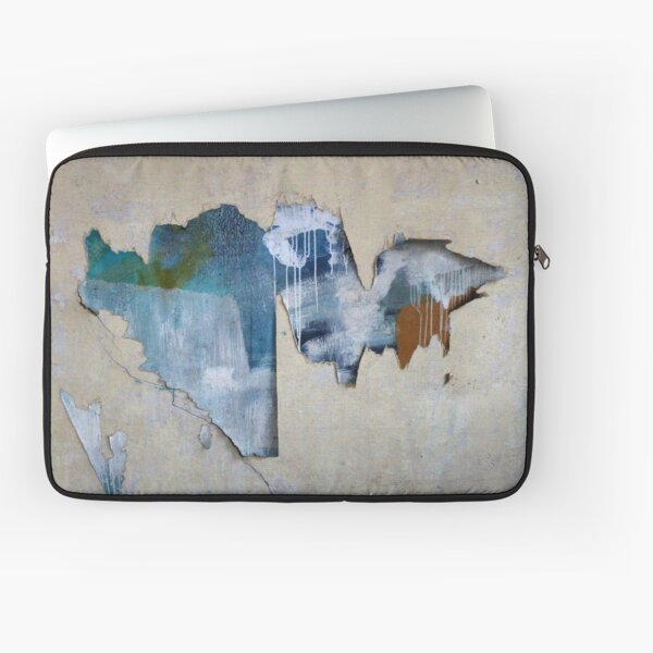 Abstract Green Blue Flash  Laptop Sleeve