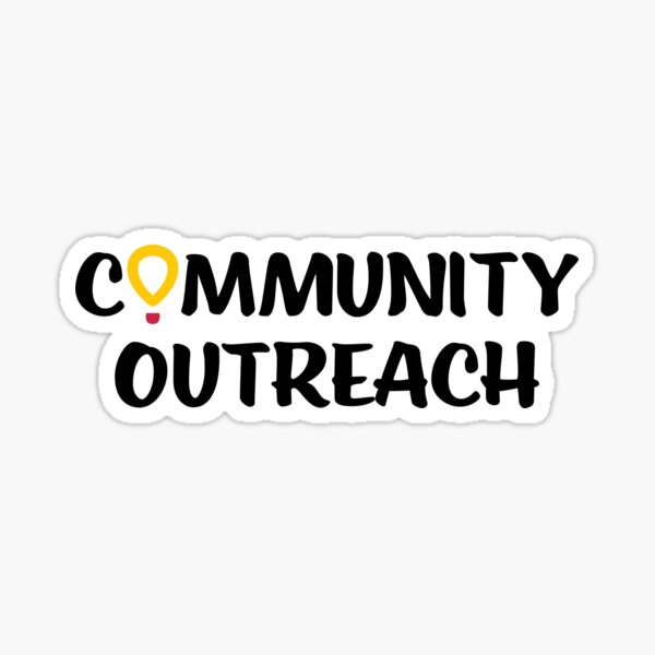 DM Community Outreach Committee Sticker