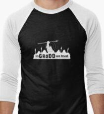 GRODD (White) Men's Baseball ¾ T-Shirt