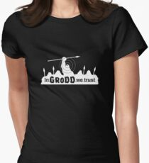 GRODD (White) Women's Fitted T-Shirt