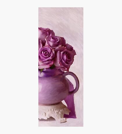 Lavender Roses And Tea Pot Photographic Print