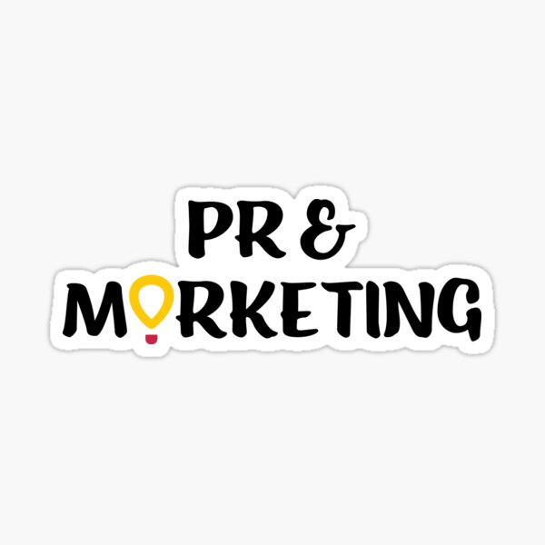 DM Public Relations and Marketing Committee Sticker