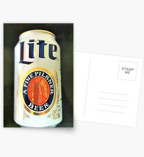 Miller Lite Postcards