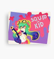 Squid Kid Canvas Print