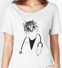 Dr. Cat Women's Relaxed Fit T-Shirt