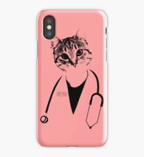 Dr. Cat iPhone Case/Skin