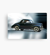 1940 Ford 'Deluxe' Coupe Canvas Print