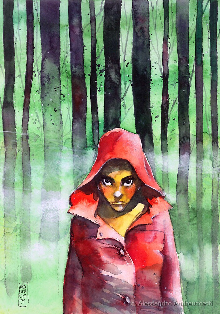 Little red riding woods by Alessandro Andreuccetti