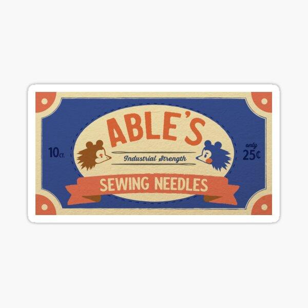 Able Needles Sticker