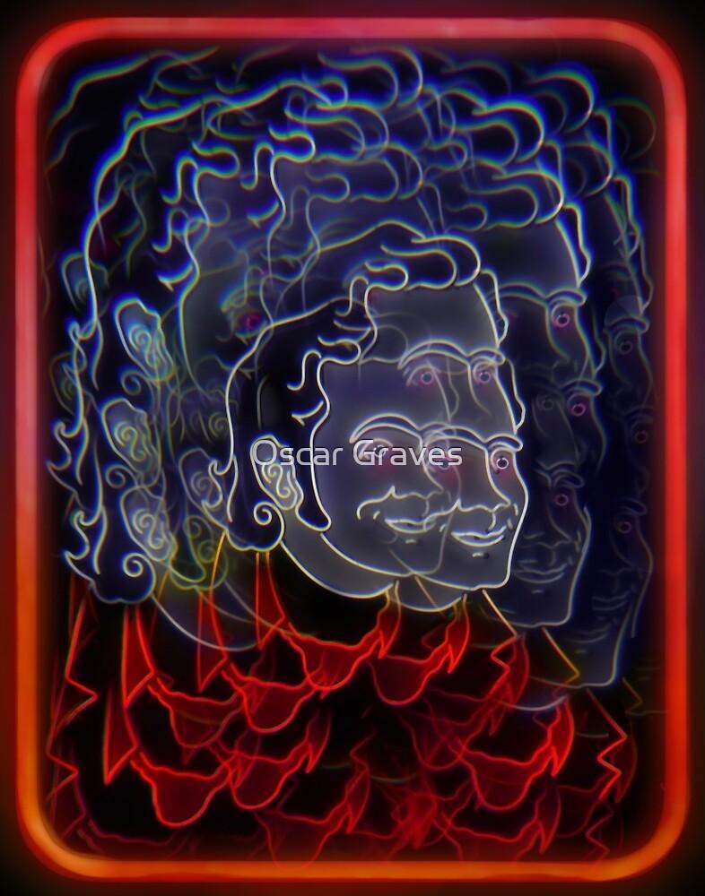 Neon Cowboy by Oscar Gallegos Zamora