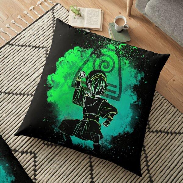 Soul of the Earthbender Floor Pillow