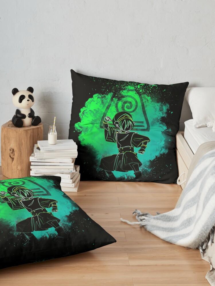 Alternate view of Soul of the Earthbender Floor Pillow