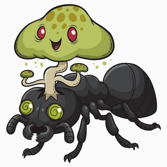TShirtGifter presents: Cordyceps Ant | Unisex T-Shirt