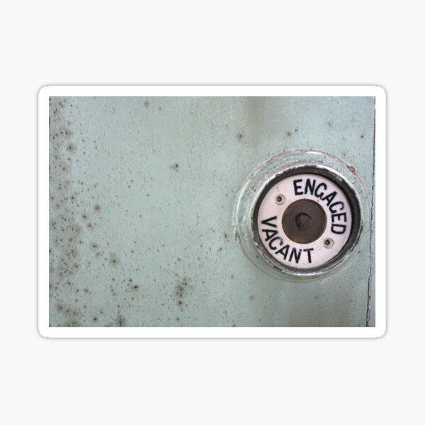 Vacant : Engaged  Sticker