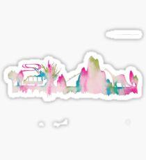 Orlando Animal Theme Park Inspired Skyline Silhouette Sticker