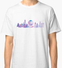 Orlando Future Theme Park Inspired Skyline Silhouette Classic T-Shirt
