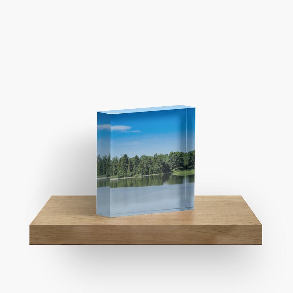 Green&Blue Acrylic Block