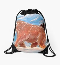Realistic Mamoswine & Swinub Drawstring Bag