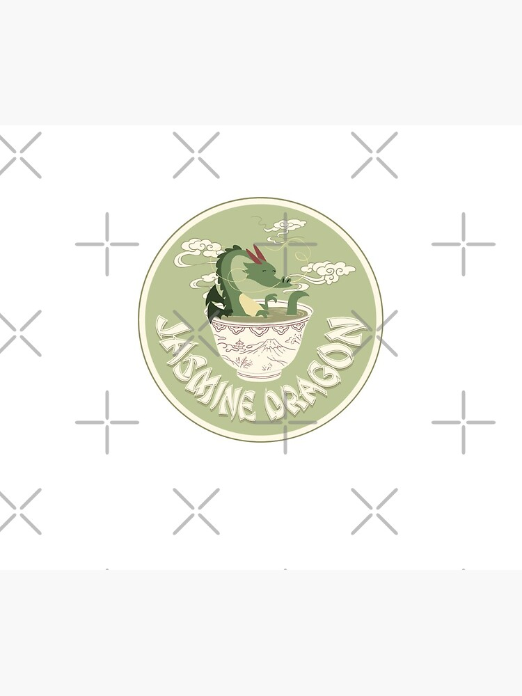 Jasmine Dragon Tea Shop Logo by iypuff123