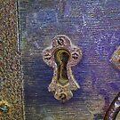 13th Century door lock by Martyn Franklin