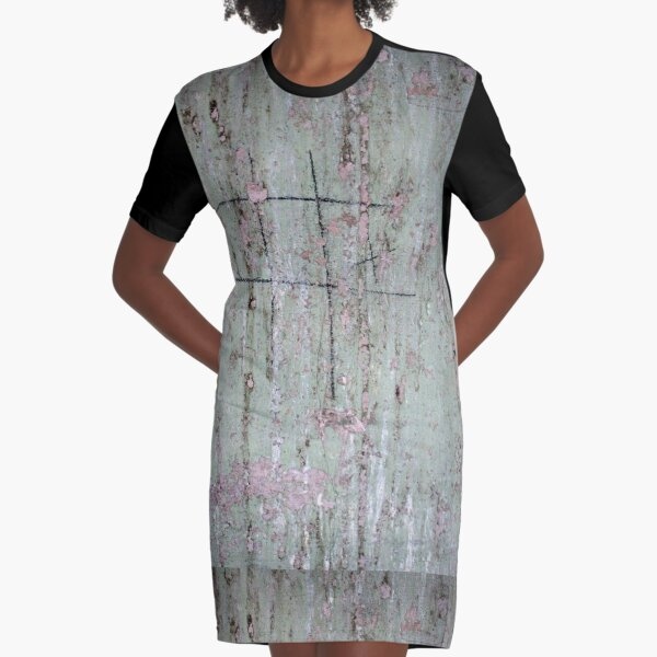 Never Ending Noughts and Crosses Graphic T-Shirt Dress