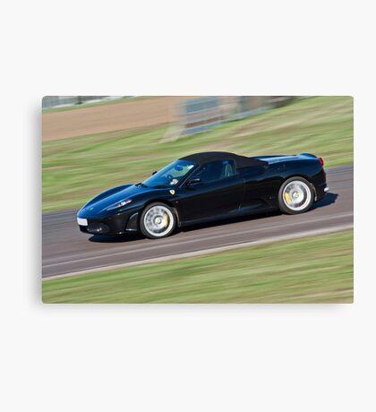 Black Ferrari soft top  Canvas Print