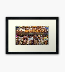 Chocolate lovers Framed Print