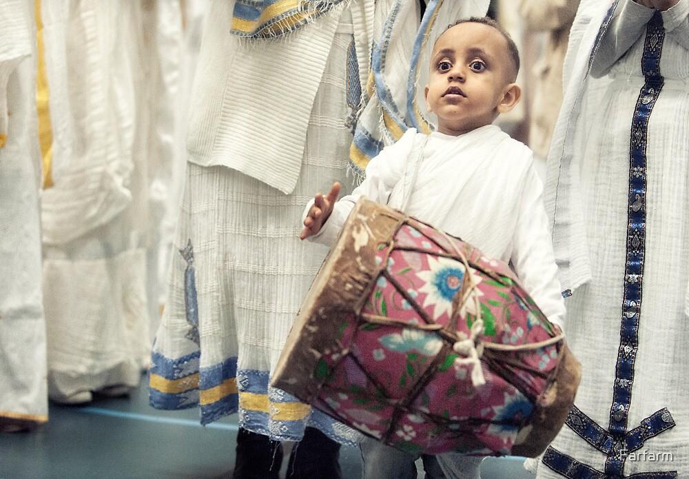 A little drummer boy by Farfarm