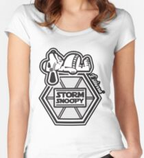 Stormsnoopy Women's Fitted Scoop T-Shirt