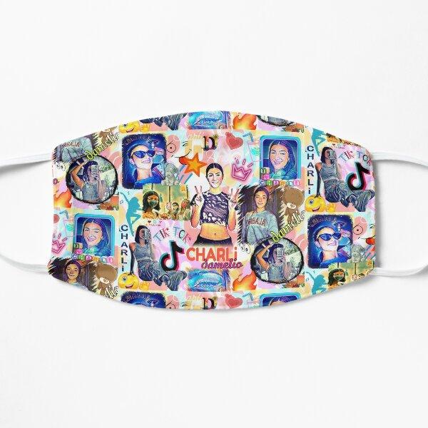 charli damelio, design cool Masque sans plis