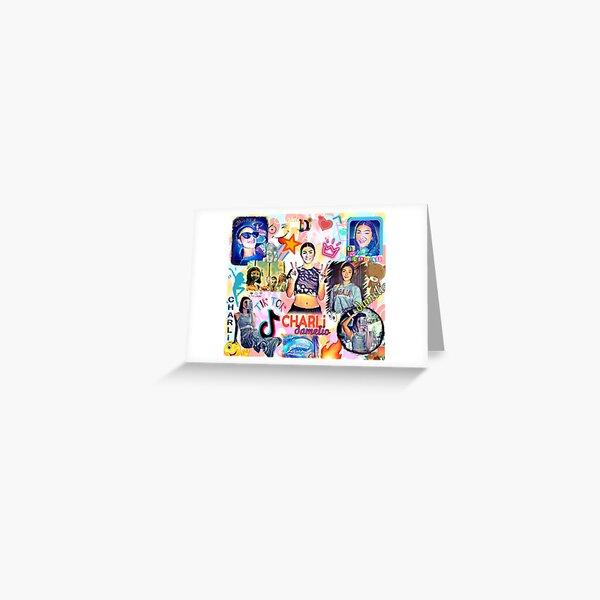 charli damelio, diseño genial Tarjetas de felicitación