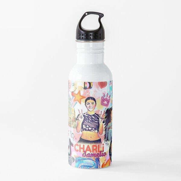charli damelio, diseño genial Botella de agua