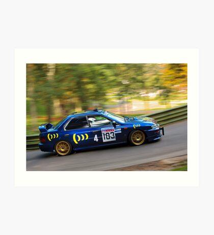 Subaru Impreza WRX STi Art Print